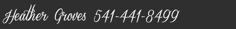 Heather Groves Phone Number
