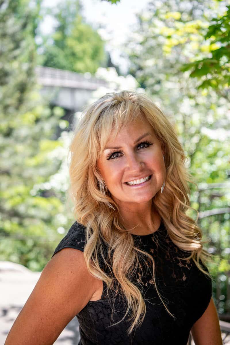 co-owner of LD salon Lisa Clark