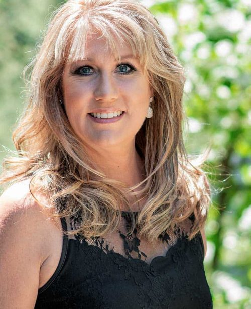Dionne Horban hair stylist and co-owner of LD Salon